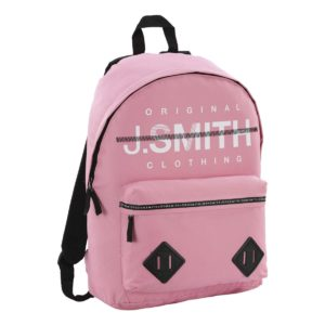 Mochila John Smith en color rosa.