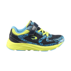 Zapatillas John Smith Rixon 20V para niño con velcro en color azul y amarillo