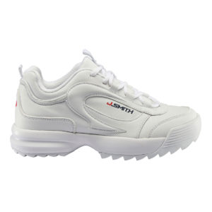 Zapatillas John Smith Vai V20 en color blanco para mujer.