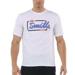 Camiseta John Smith Fuensa para hombre en color blanco.