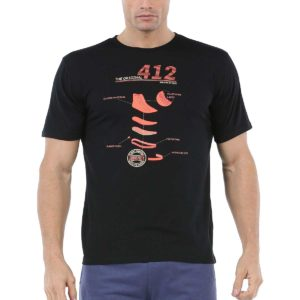 Camiseta John Smith Sema en color negro para hombre.