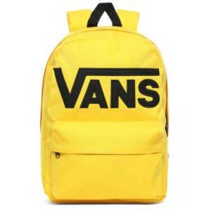 Mochila Vans Old Skool III en color amarillo.