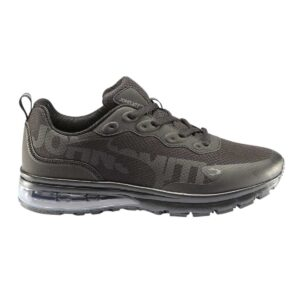Zapatillas John Smith Raxel para hombre, en color negro, de running.
