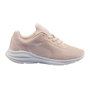 Zapatillas John Smith Running Riden W en color rosa y blanco, para mujer.