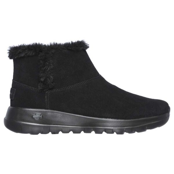 Botas Skechers On the GO Joy Bundle Up en color negro para mujer.