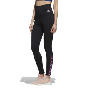 Mallas Adidas Essentials Tape en color negro para mujer.