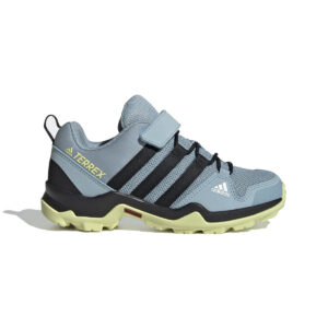 Zapatillas Adidas Terrex AX2R CF para niño, de hiking, en color gris.