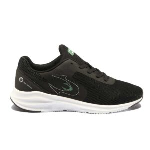 Zapatillas John Smith Ridendos para hombre, de running, en color negro y verde.