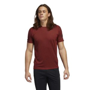 Camiseta Adidas Freelift Sport Ultimate en color burdeos, para hombre.