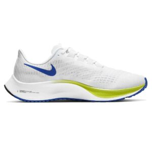 Zapatillas Nike Air Zoom Pegasus 37 para hombre, en color blanco y amarillo, de running.