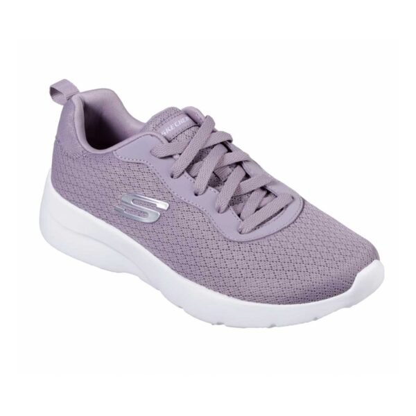 Deportivas para mujeres Skechers Dynamight 2.0 Eye to Eye de color morado.